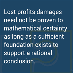 Lost Profits Quote