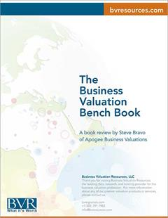 The Business Valuation Bench Book - Review