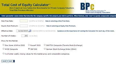 Butler Pinkerton Calculator Screen Shot