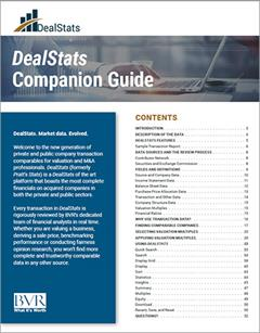 DealStats Companion Guide