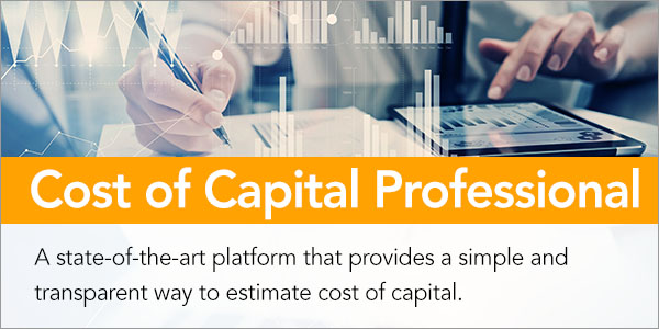Cost of Capital Professional