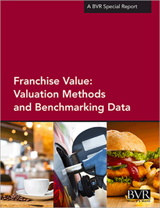 Franchise Value: Valuation Methods and Benchmarking Data