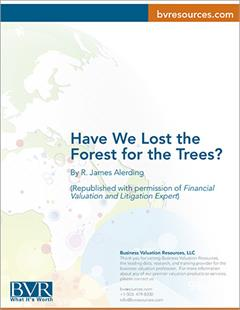 Have We Lost the Forest For the Trees Article