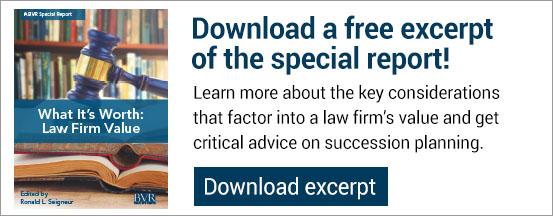 Law Firm Value Free Report Excerpt