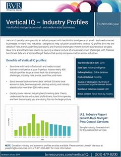 Vertical IQ spec sheet cover