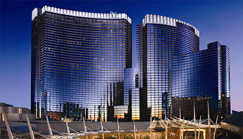 ARIA Resort & Casino Exterior Image