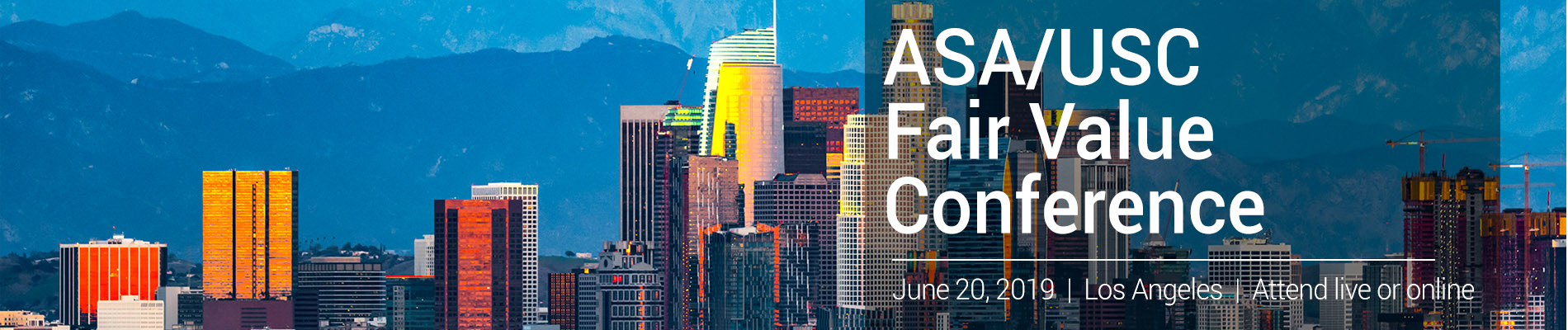 ASA/USC 14th Annual Fair Value Conference