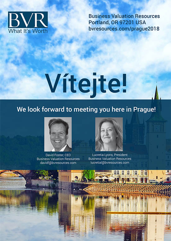 Prague Conference Brochure - May 2018