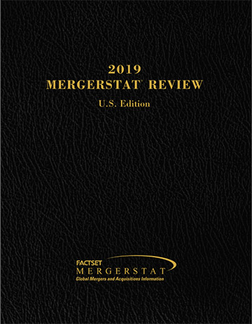 2019 FactSet Mergerstat Review–U S  Edition | Business Valuation