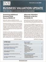 Business Valuation Update June 2020