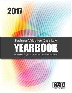 Business Valuation Update Law Yearbook 2017