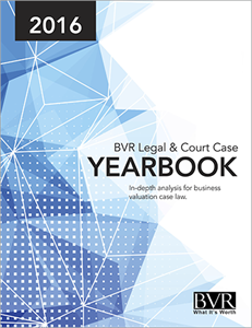 BVR Legal & Court Case Yearbook