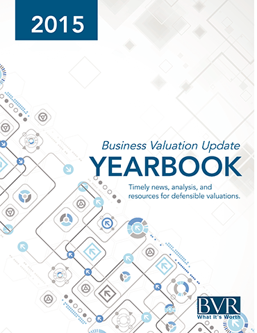 Business Valuation Update Yearbook 2015