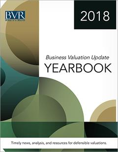 Business Valuation Update Yearbook 2018