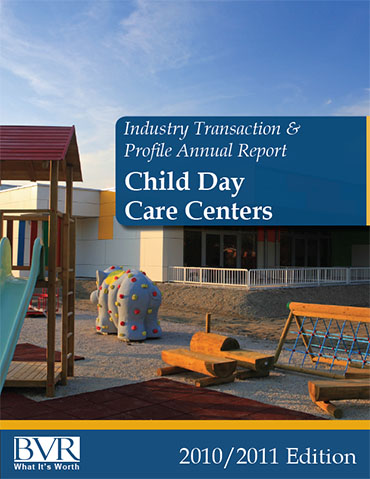 Industry Transaction and Profile Annual Report Child Day Care Centers