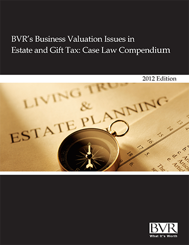 Estate & Gift Case Law Compendium