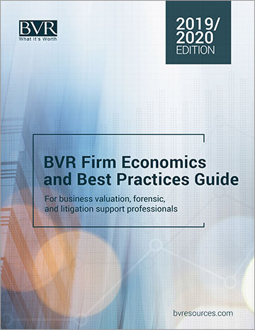 Firm Economics & Best Practices Guide 2019-2020