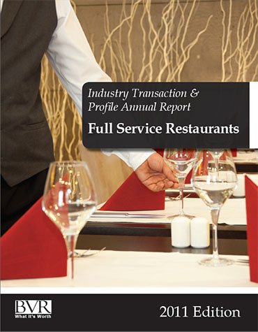 Full Service Restaurants Industry Report