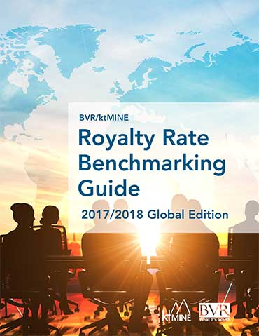 ktMINE Royalty Rates 2017-2018 Edition