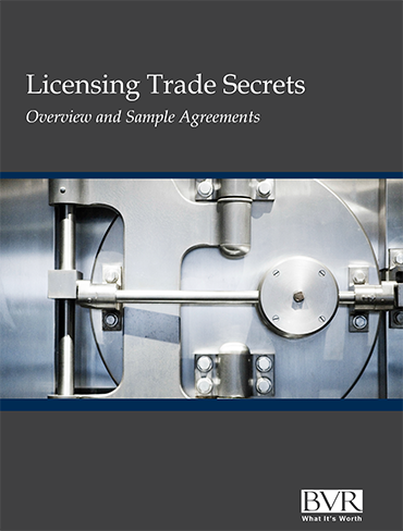 Licensing Trade Secrets: Overview and Sample Agreements