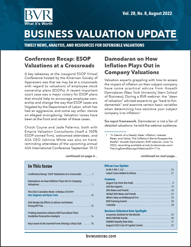 August 2020 BVU Issue