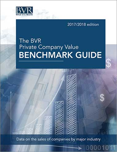 The BVR Private Company Value Benchmark Guide