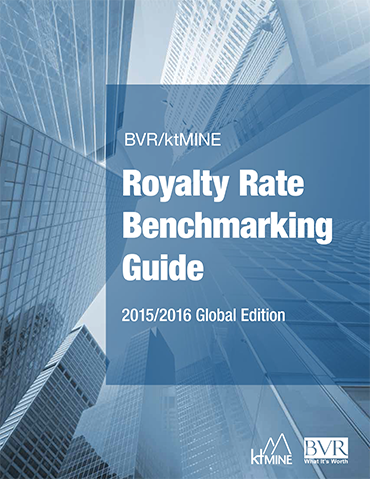 Royalty Rate Resource Guide 2015-2016