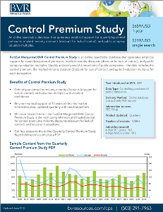 Control Premium Study Product Download Sheet