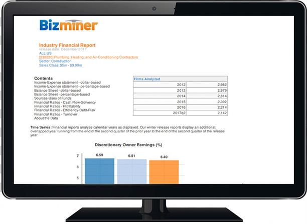 BizMiner Screen Shot