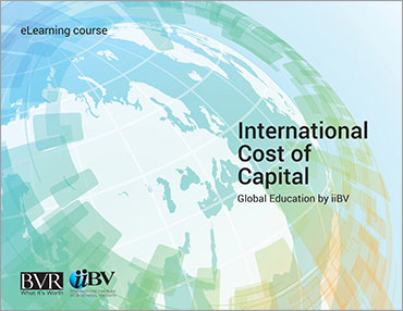 International Cost of Capital eLearning Course