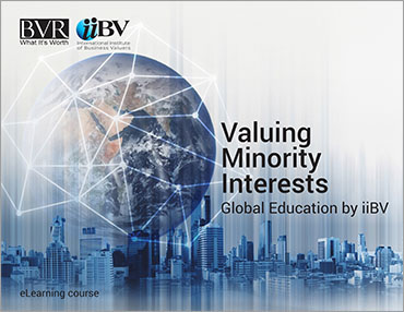 Valuing Minority Interests eLearning Course