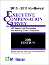 2010-2011 NW Milliman Survey Executive Compensation Survey of Privately Held Companies and Publicly Traded Companies