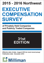 2015 - 2016 NW Executive Compensation Survey Results
