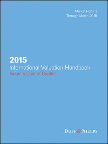 2015 International Valuation Handbook - Industry Cost of Capital