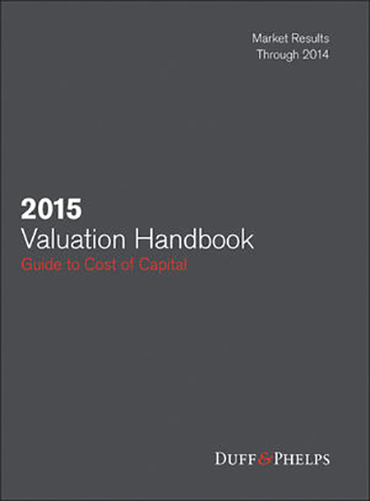 2015 Valuation Handbook - Guide to Cost of Capital
