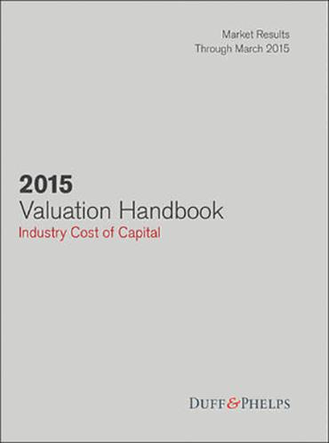 2015 Valuation Handbook - Industry Cost of Capital