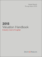 2015 Valuation Handbook - Industry Cost of Capital