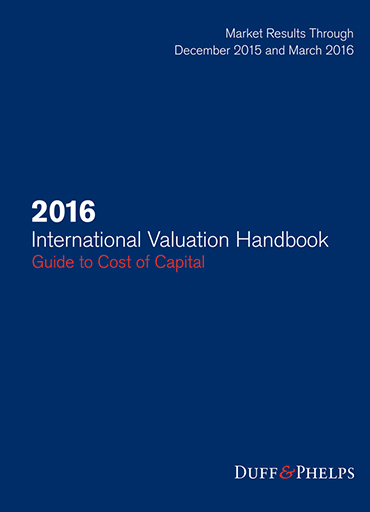 2016 International Valuation Handbook Guide