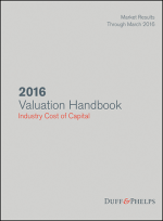 2016 Valuation Handbook Industry Cost of Capital