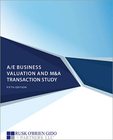 Architecture and Engineering Business Valuation and M&A Transaction Study