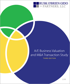A/E Business Valuation and M&A Transaction Study
