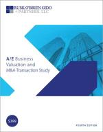 Architecture/Engineering Business Valuation M&A Transaction Study, Fourth Edition
