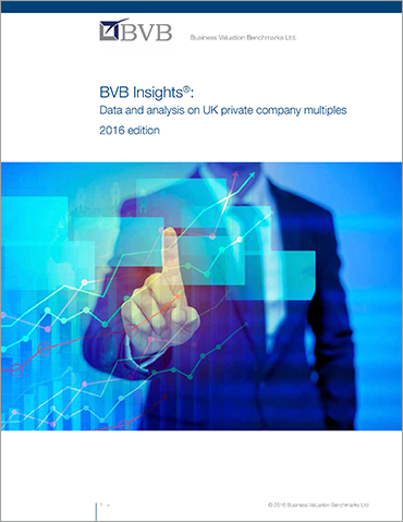 BVB Insights Data & Analysis on UK private company multiples