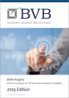 BVB Business Valuation Benchmarks 2015 Edition
