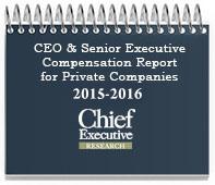 CEO and Senior Executive Compensation Report 2015-2016