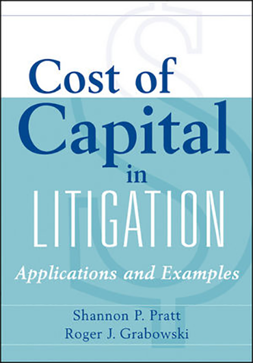 Cost of Capital in Litigation