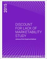 Discount for Lack of Marketability Study 2015