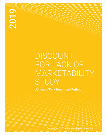Discount for Lack of Marketability Report 2019