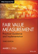 Fair Value Measurements 3rd Edition