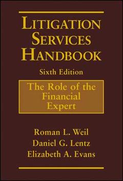 Litigation Services Handbook Sixth Edition